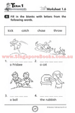 High Frequency Action Words - Singapore Books