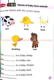 K2 on the way to Primary 1 English Textbook & Workbook set (Prep 6-7 years old) - Singapore Books
