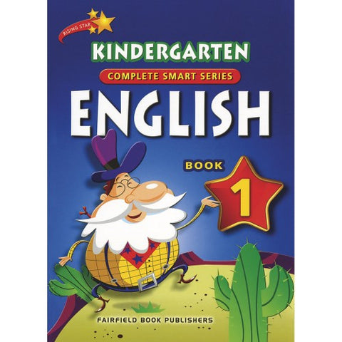 Kindergarten English Book 1 (4-5 years old) - singapore-books