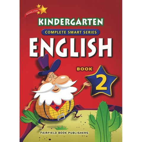 Kindergarten English Book 2 (5-6 years old) - singapore-books