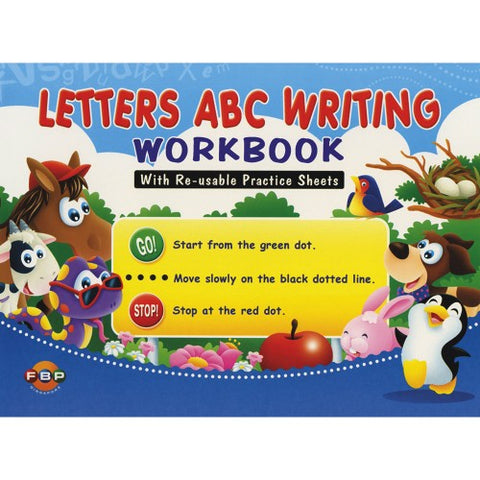 Letters ABC Writing Workbook - Singapore Books
