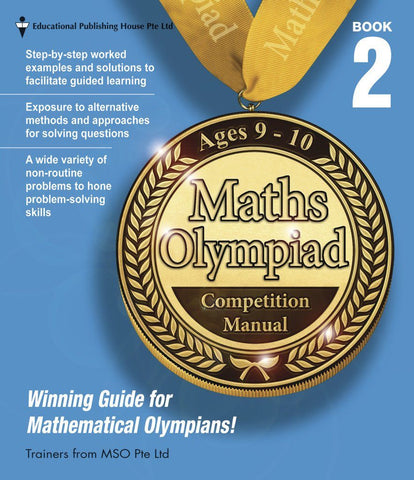 Maths Olympiad Competition Manual Book 2 (Primary 3 and 4) - Singapore Books