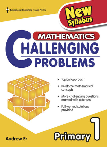Mathematics Challenging Problems Primary 1 - Singapore Books