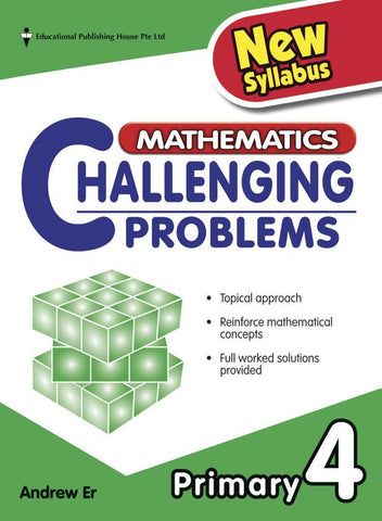 Mathematics Challenging Problems Primary 4 - singapore-books