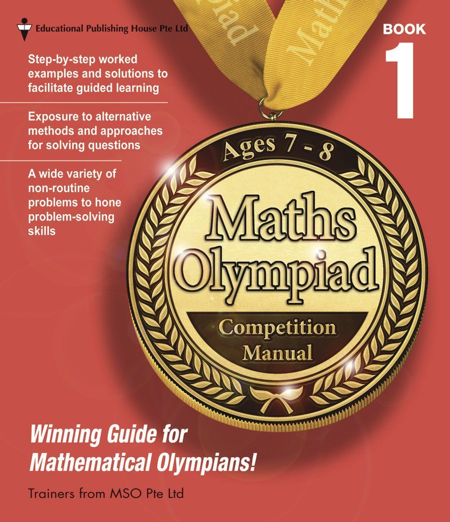 Maths Olympiad Competition Manual Book 1 (Primary 1 and 2) - singapore-books