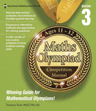 Maths Olympiad Competition Manual Book 3 (Primary 5 and 6) - Singapore Books