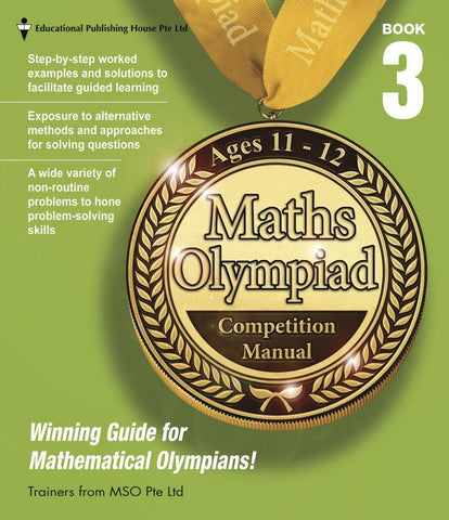 Maths Olympiad Competition Manual Book 3 (Primary 5 and 6) - singapore-books