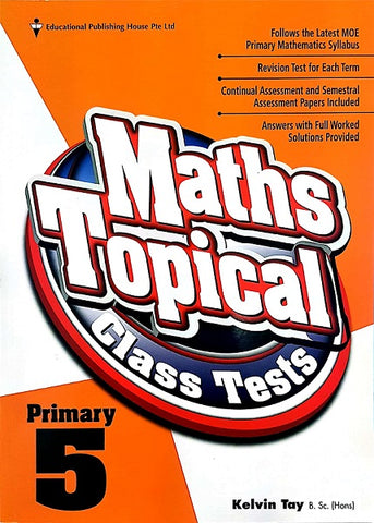 Sample - Maths Topical Class Tests Primary 5 - singapore-books