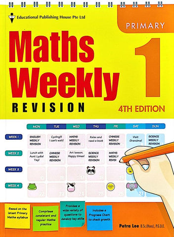 Maths Weekly Revision Primary 1 - Singapore Books