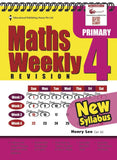 Maths Weekly Revision (New Syllabus) Primary 4 - Singapore Books