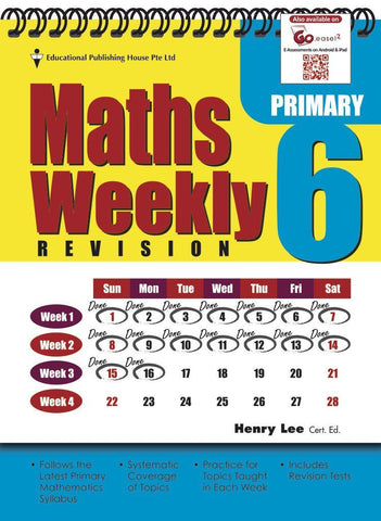 Maths Weekly Revision Primary 6 - singapore-books