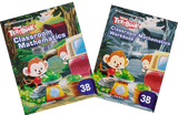 More than a textbook Maths Textbook & Workbook Primary 3B set - Singapore Books