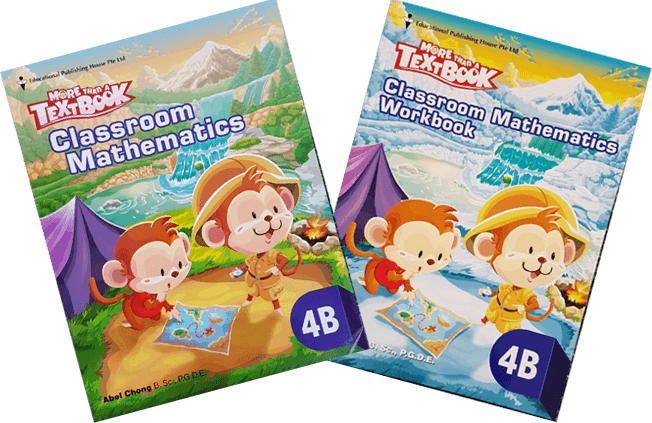 More than a textbook Maths Textbook & Workbook Primary 4B set - singapore-books