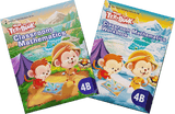 More than a textbook Maths Textbook & Workbook Primary 4B set - Singapore Books