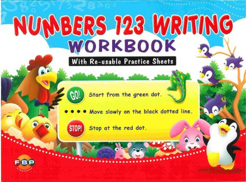 Numbers 123 Writing Workbook - singapore-books
