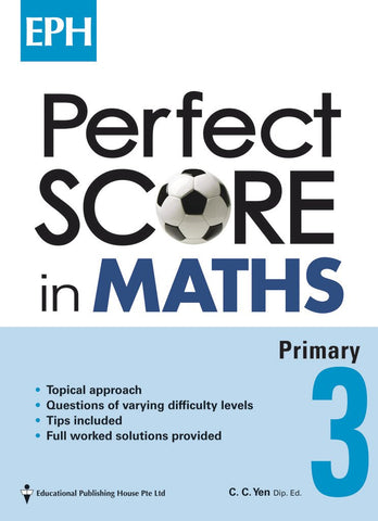 Sample - Perfect Score in Maths Primary 3 - singapore-books