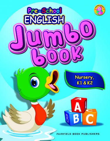 Pre-School English Jumbo Book Nursery, K1 & K2 (4-6 years old) - singapore-books