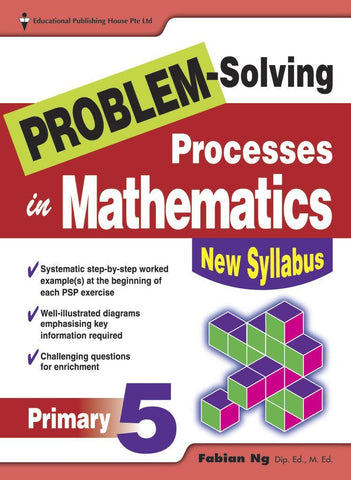 Problem-Solving Processes in Mathematics Primary 5 - singapore-books