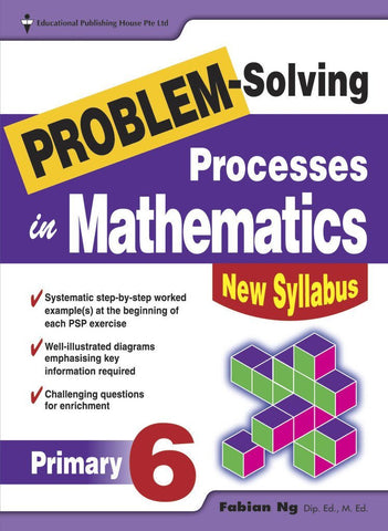 Problem-Solving Processes in Mathematics Primary 6 - singapore-books