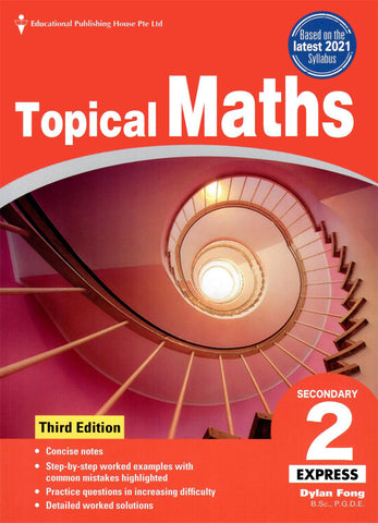 Topical Maths Secondary 2 (Year 8) - singapore-books