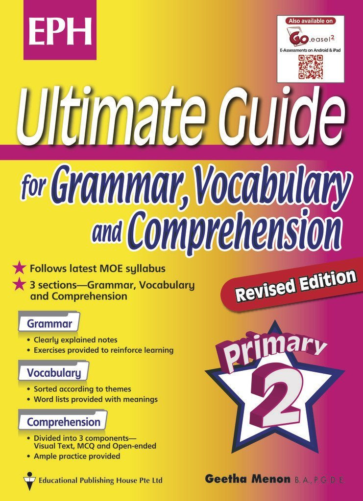 Ultimate Guide for Grammar, Vocabulary & Comprehension Primary 2 - Singapore Books