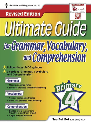 Ultimate Guide for Grammar, Vocabulary & Comprehension Primary 4 - singapore-books