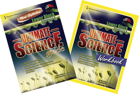 Ultimate Science for lower block guide & workbook (Primary 3 and 4) - singapore-books