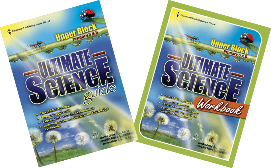 Ultimate Science for upper block guide & workbook (Primary 5 and 6) - singapore-books
