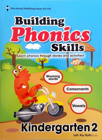 Building Phonics Skills Kindergarten 2 (5-6 years old) - singapore-books