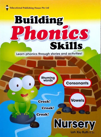 Building Phonics Skills Nursery (3-4 years old) - singapore-books