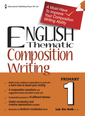 English Thematic Composition Writing Primary 1 - Singapore Books