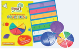 *LAST ONE* Clearance - Smart Maths Fractions book & Manipulatives Set - singapore-books