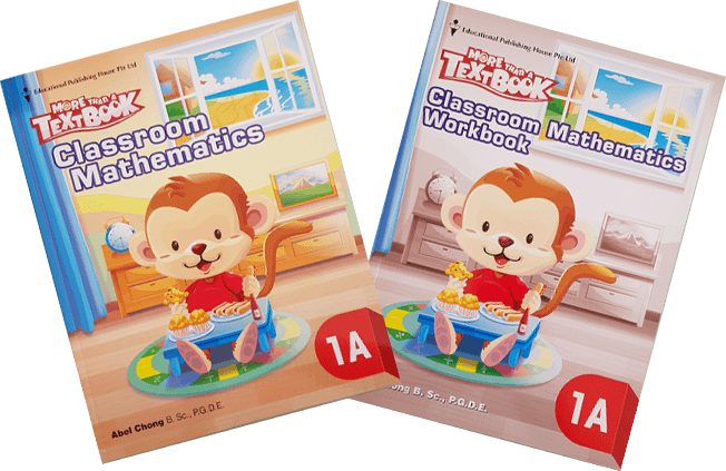 More than a textbook Maths Textbook & Workbook Primary 1A set - Singapore Books