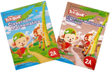 More than a textbook Maths Textbook & Workbook Primary 2A set - Singapore Books