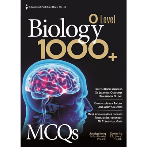 O Level Biology 1000+ MCQs (for Year 10, 11 & 12)