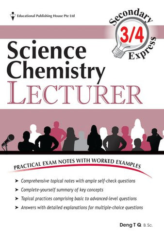 O Level Science Chemistry Lecturer (for Year 10, 11 & 12)