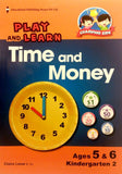 Play and Learn Time and Money Kindergarten 2 (Prep 5-6 years old) - singapore-books