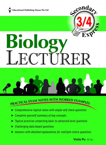 Secondary 3 & 4 - GCE/GCSE O Levels Biology Lecturer ( for Year 10, 11 & 12) - Singapore Books