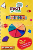 Clearance - Smart Maths Fractions book & Manipulatives Set - Singapore Books