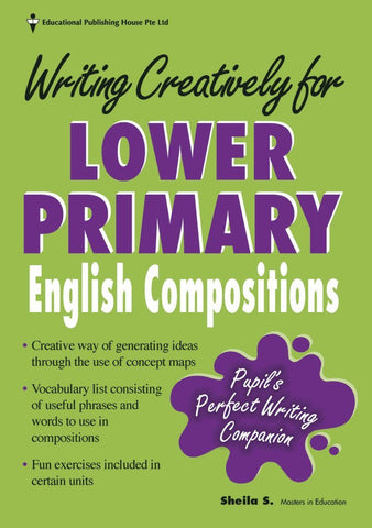 Writing Creatively for English Composition for Primary 3 and 4 - singapore-books