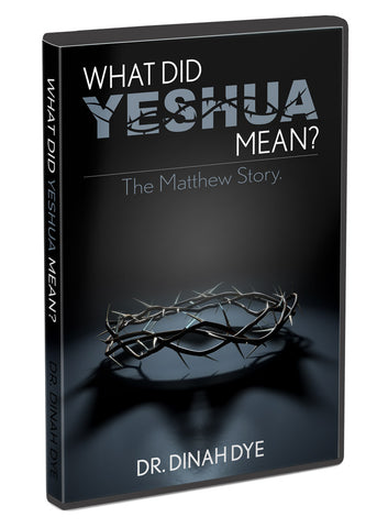 What Did Yeshua Mean?