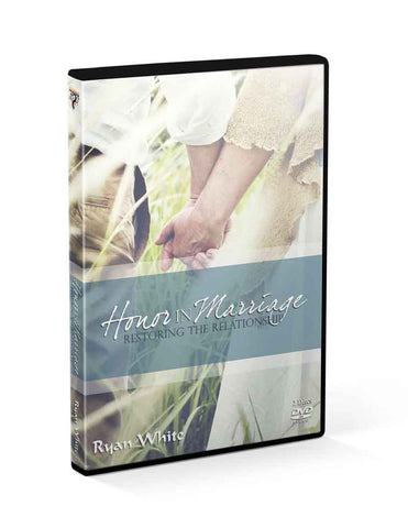 Honor in Marriage: Restoring the Relationship