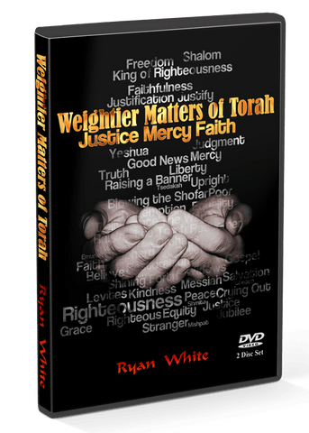 Teaching - The Weightier Matters Of Torah