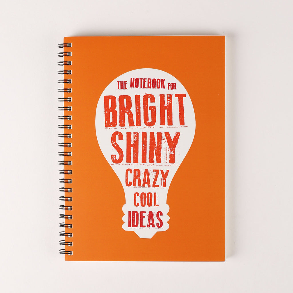 The Bright Ideas Spiral Notebook