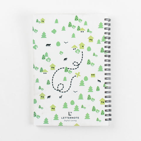 Get Out There Spiral Notebook