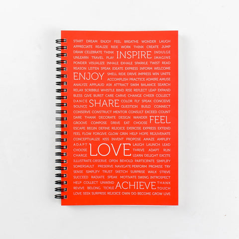 Life Mantras Spiral Notebook