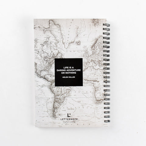 Adventure Spiral Notebook