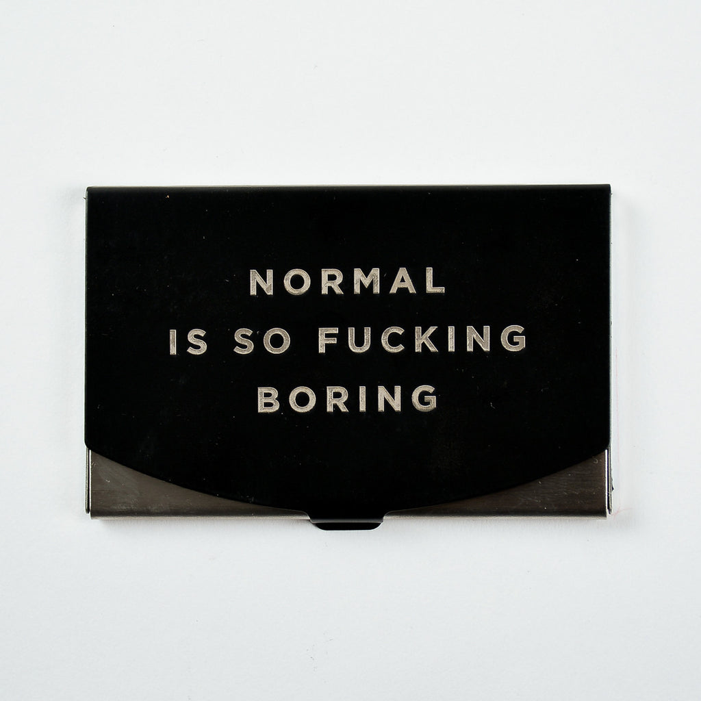 Normal - Engraved Card Holder