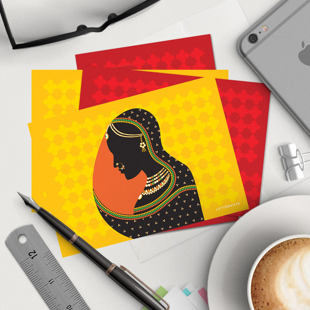 Rajput Collection Notecards