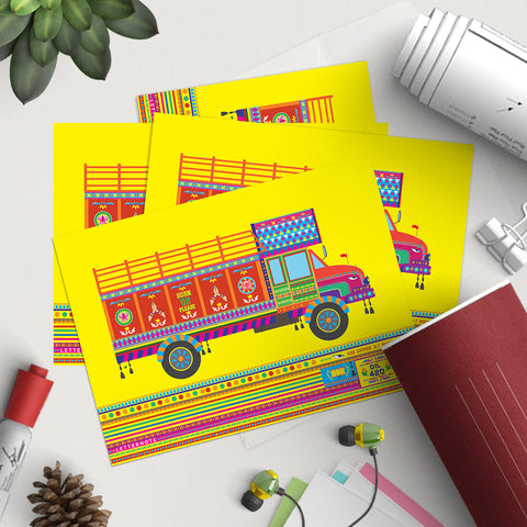 Truck Notecards